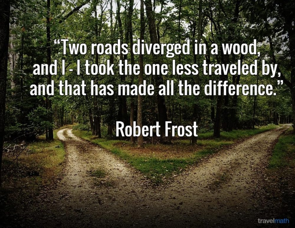 the little lessons i learned in robert frosts the road not taken I tell students that they are going to listen to a famous poem called the road not taken by robert frost you can build interest here by asking for predictions about what the poem will be about based on the title.
